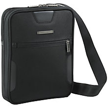 Buy Briggs & Riley Digital Cross-body Shoulder Bag, Black Online at johnlewis.com
