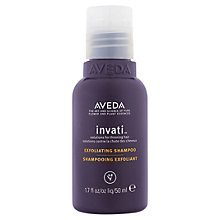 Buy AVEDA Invati™ Exfoliating Shampoo, 50ml Online at johnlewis.com