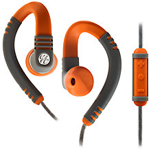 Buy Yurbuds Explore Pro Around-Ear Headphones with 3 Button Mic/Remote, Orange Online at johnlewis.com