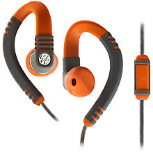 Buy Yurbuds Explore Talk Around-Ear Headphones with Mic/Remote, Orange Online at johnlewis.com