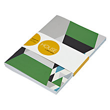 Buy House by John Lewis A5 Notebooks, Pack of 3 Online at johnlewis.com