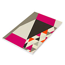 Buy John Lewis House A5 Notebook, Pink Online at johnlewis.com