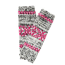 Buy Collection WEEKEND by John Lewis Fairisle Spacedye Handwarmers Online at johnlewis.com