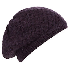 Buy John Lewis Basket Weave Beret Online at johnlewis.com