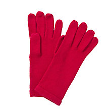 Buy John Lewis Plain Knit Gloves Online at johnlewis.com