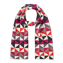 Buy John Lewis Geometric Triangle Scarf Online at johnlewis.com