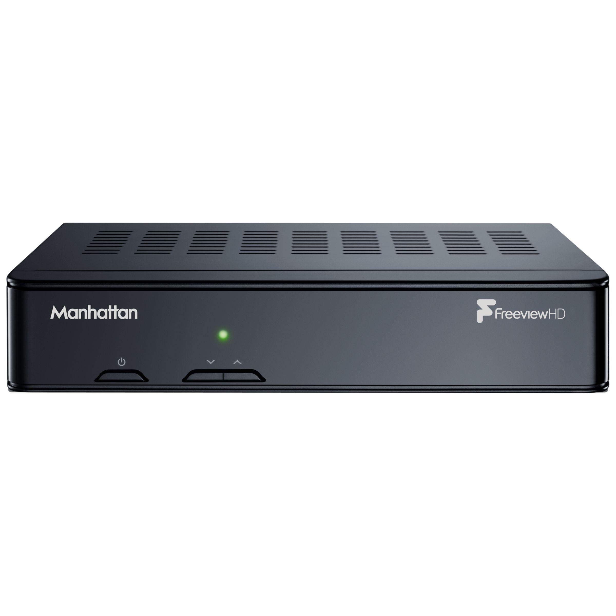 Manhattan Manhattan Plaza HD-T2 Smart Freeview HD Digital Receiver