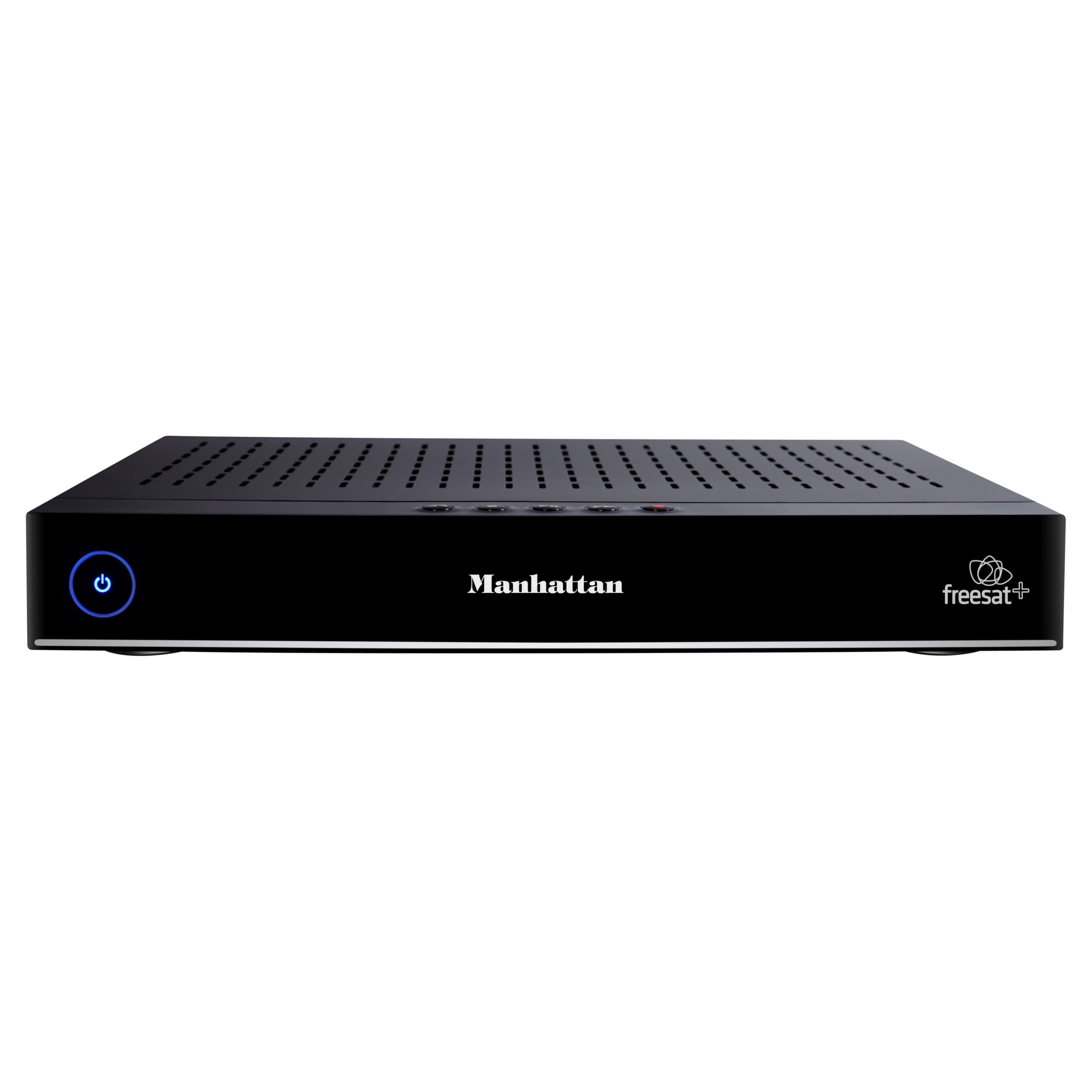 Manhattan Plaza HDRS Smart 500GB freesat HD Digital TV Recorder