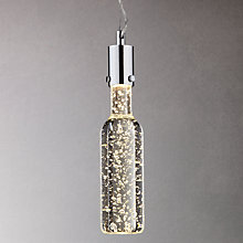 Buy John Lewis Sinclair LED Bottle Pendant Online at johnlewis.com