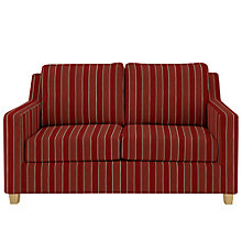 Buy John Lewis Bizet Small Sofa Bed with Open Spring Mattress, Telma Crimson Red Online at johnlewis.com