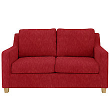 Buy John Lewis Bizet Small Sofa Bed with Open Spring Mattress, Henley Coastal Red Online at johnlewis.com