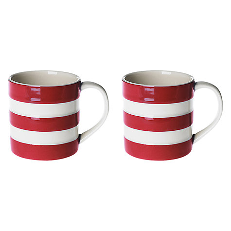 Buy Cornishware Mugs, Set of 2 Online at johnlewis.com