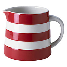 Buy Cornishware Jug, Red Online at johnlewis.com
