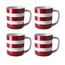 Buy Cornishware Mugs, Set of 4 Online at johnlewis.com
