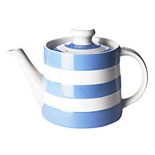 Buy Cornishware Teapot, 840ml Online at johnlewis.com