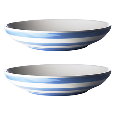 Cornishware Pasta Bowls, Set of 2