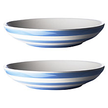 Buy Cornishware Pasta Bowls, Set of 2 Online at johnlewis.com
