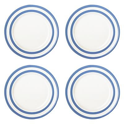 Cornishware Side Plates, Blue
