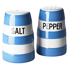 Buy Cornishware Salt & Pepper Set Online at johnlewis.com