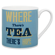 Buy Wild & Wolf Where There is Tea Mug, 0.31L Online at johnlewis.com