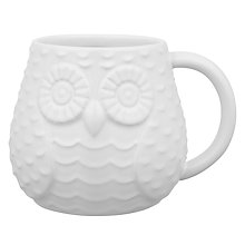 Buy John Lewis Owl Mug Online at johnlewis.com