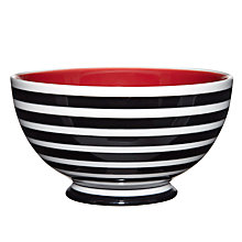 Buy John Lewis Copenhagen Stripe Bowl, Dia.15cm Online at johnlewis.com