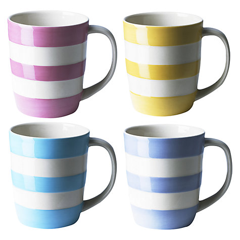 Buy Cornishware Girl Mug, Multi Online at johnlewis.com