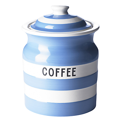 Cornishware Coffee Storage Jar