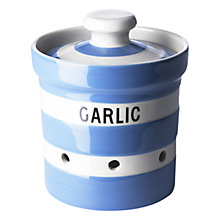 Buy Cornishware Garlic Keeper, Blue Online at johnlewis.com