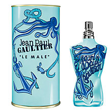 Buy Jean Paul Gaultier Le Male Summer Eau de Toilette, 125ml Online at johnlewis.com