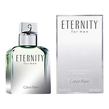Buy Calvin Klein Eternity Silver Edition For Men Eau de Toilette, 100 ml Online at johnlewis.com