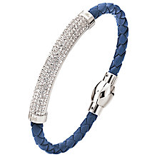 Buy Folli Follie Dazzling Crystal Rose Bracelet Online at johnlewis.com