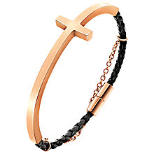 Buy Folli Follie Carma Half-Bangle Bracelet Online at johnlewis.com