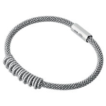 Buy Links of London Star Dust Crown Sterling Silver Bracelet Online at johnlewis.com