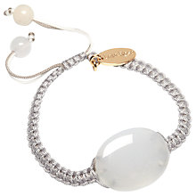Buy Lola Rose Conni Multi White Agate Bracelet, White Online at johnlewis.com