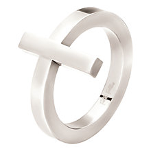 Buy Folli Follie Carma Silver Plated Ring Online at johnlewis.com