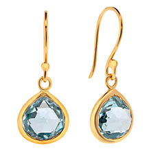 Buy Amrapali for Dinny Hall Pear Drop Earrings, Topaz Online at johnlewis.com