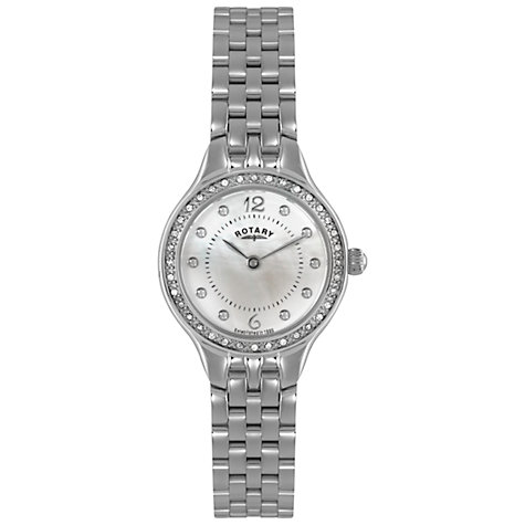 Buy Rotary Women's Stainless Steel Bracelet Watch Online at johnlewis.com