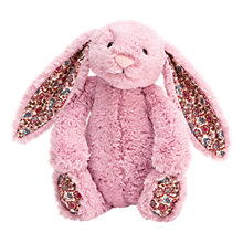 Buy Jellycat Blossom Bunny Plush, Medium, Pink Online at johnlewis.com