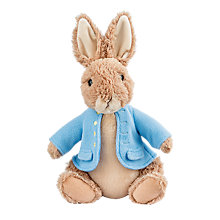 Buy Beatrix Potter Peter Rabbit Soft Toy, Large Online at johnlewis.com