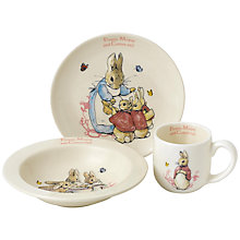 Buy Beatrix Potter Flopsy Mopsy Cotton Tail 3 Piece Set Online at johnlewis.com