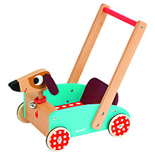 Buy Janod Crazy Doggy Cart Online at johnlewis.com