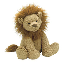 Buy Jellycat Fuddlewuddle Lion Toy, Brown, Large Online at johnlewis.com