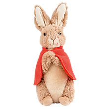Buy Beatrix Potter Flopsy Rabbit Plush Toy, Large Online at johnlewis.com