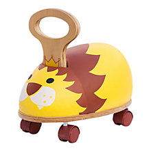 Buy Skipper Ride 'n' Roll Crazy Creatues Lion Online at johnlewis.com