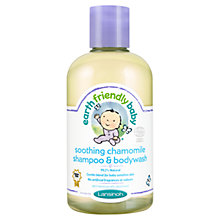 Buy Earthly Friendly Baby Soothing Chamomile Shampoo & Bodywash, 250ml Online at johnlewis.com