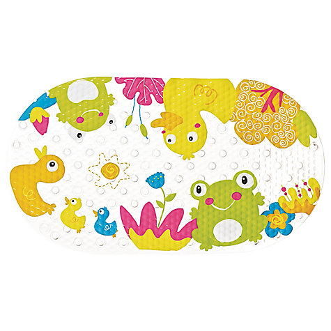 buy ted in tub baby bath mat duck frog john lewis. Black Bedroom Furniture Sets. Home Design Ideas