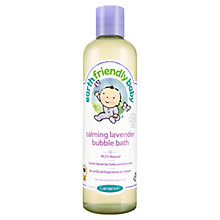 Buy Earthly Friendly Baby Calming Lavender Bubble Bath, 300ml Online at johnlewis.com