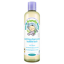 Buy Earth Friendly Baby Soothing Chamomile Bubble Bath, 300ml Online at johnlewis.com