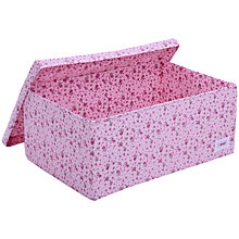 Buy Minene Pink Flower Large Box Online at johnlewis.com